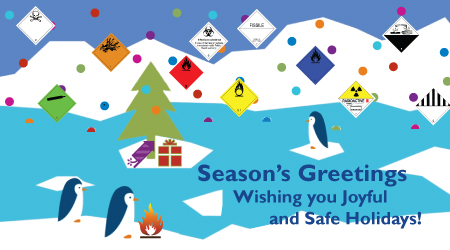 Happy Holidays – Changed Office hours
